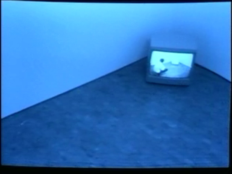 1969-70 Bruce Nauman's Video Surveillance Piece