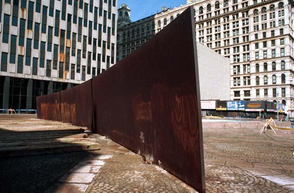 Tilted Arc 1981-89