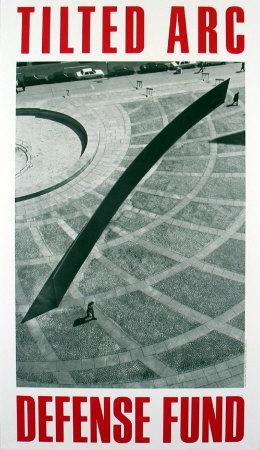 Tilted Arc 1981 Poster