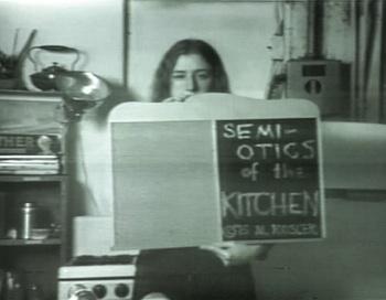 Martha Rosler; Semiotics