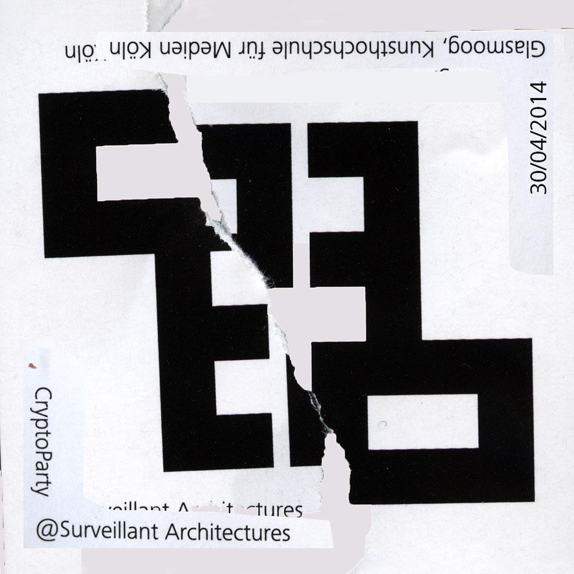 Cryptoparty sticker