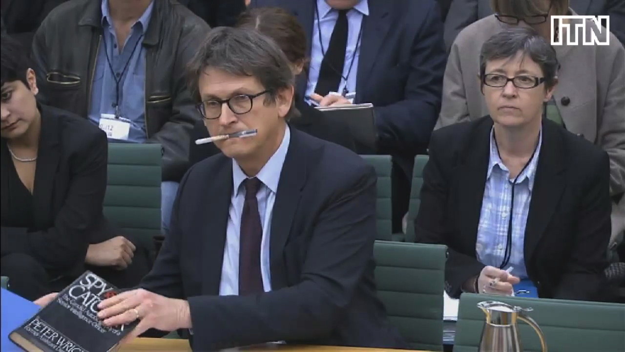Guardian editor Alan Rusbridger questioned - trim2 short
